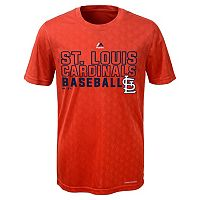 Boys 8-20 Majestic St. Louis Cardinals Geo Plex Cool Base Tee