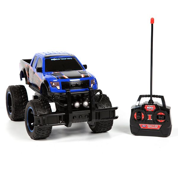 World Tech Toys Remote Control Ford F 150 Raptor Monster Truck