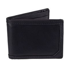 Men's Dockers Passcase Wallet with Zipper Closure