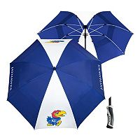 Team Effort Kansas Jayhawks Windsheer Lite Umbrella
