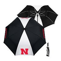 Team Effort Nebraska Cornhuskers Windsheer Lite Umbrella