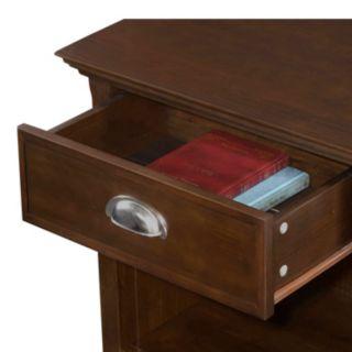Simpli Home Acadian Nightstand