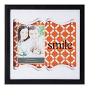 Melannco 'Smile' 4' x 6' Shadow Box Frame