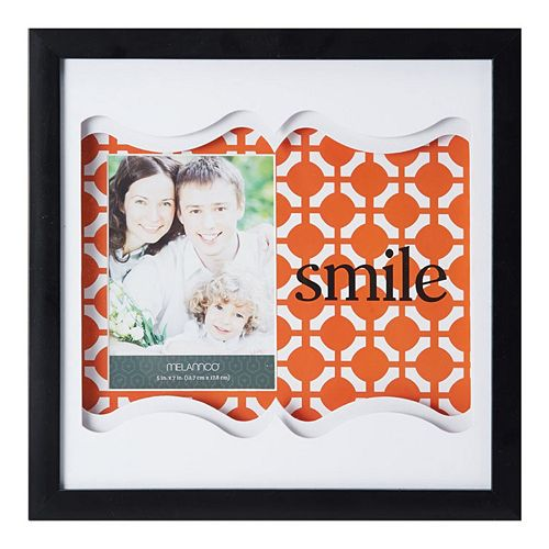 Melannco Smile 4 x 6 Shadow Box Frame