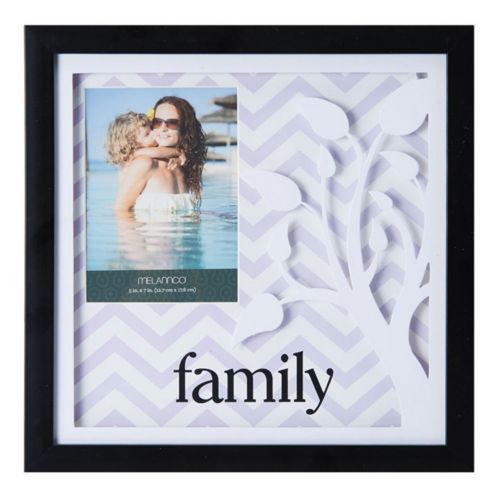 "Melannco ""Family"" 4"" x 6"" Shadow Box Frame"