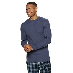 5758a9a908b435 Men s Hanes Ultimate X-Temp Waffle-Weave Thermal Sleep Tee