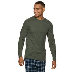 Men's Hanes Ultimate X-Temp Waffle-Weave Thermal Sleep Tee