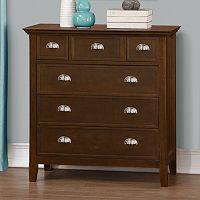 Simpli Home Acadian Dresser