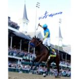 "Steiner Sports Victor Espinoza Signed 2015 Kentucky Derby 8"" x 10"" Photo"