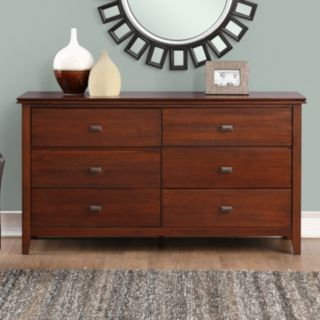 Simpli Home Artisan Bedroom Media Dresser