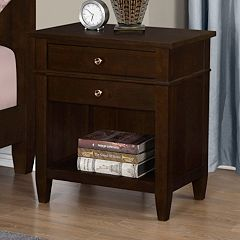 Simpli Home Carlton Nightstand