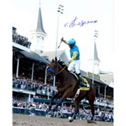 Steiner Sports Victor Espinoza Signed 2015 Kentucky Derby 16' x 20' Photo