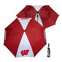 Team Effort Wisconsin Badgers Windsheer Lite Umbrella