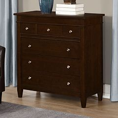 Simpli Home Carlton Bedroom Dresser