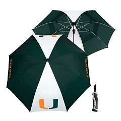 Team Effort Miami Hurricanes Windsheer Lite Umbrella