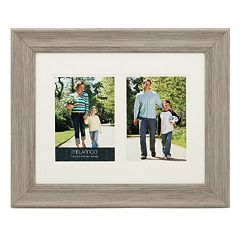 Melannco 2-Opening 5' x 7' Double Matted Collage Frame