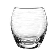 Qualia Glass Graffiti 4 pc Double Old-Fashioned Glass Set