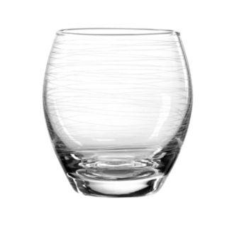Qualia Glass Graffiti 4-pc. Double Old-Fashioned Glass Set