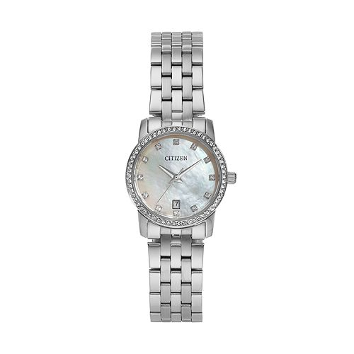 Citizen Women's Crystal Stainless Steel Watch - EU6030-56D