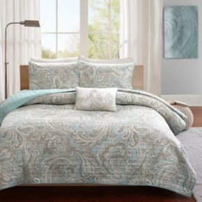Madison Park Pure Dermot 4-piece Coverlet Set