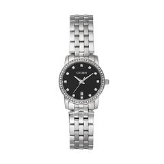 Citizen Women's Crystal Stainless Steel Watch - EU6030-56E