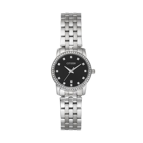 Citizen Women's Crystal Stainless Steel Watch - EU6030-56E