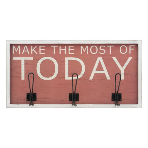 "Melannco ""Today"" 3-Hook Coat Hanger"