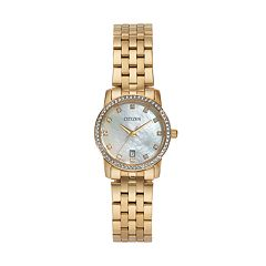 Citizen Women's Crystal Stainless Steel Watch - EU6032-51D