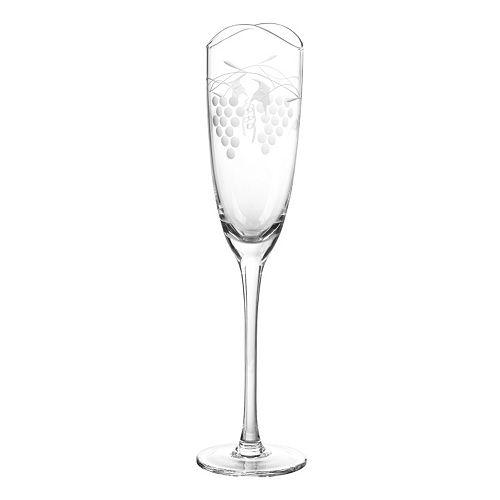 Qualia Glass Orchard 4-pc. Champagne Flute Set