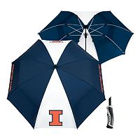 Team Effort Illinois Fighting Illini Windsheer Lite Umbrella
