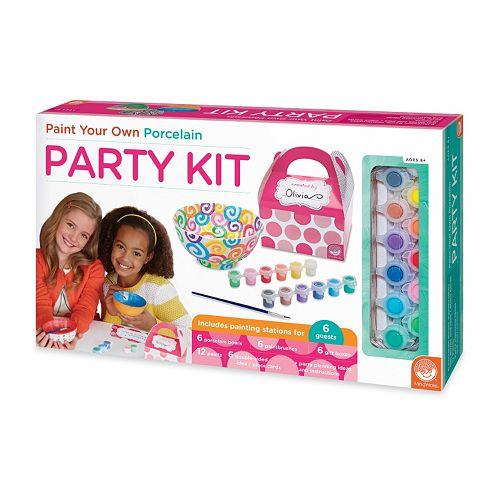 MindWare Paint Your Own Porcelain Party Kit