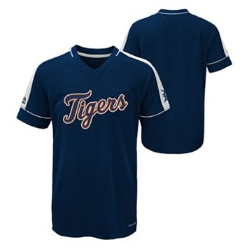 Boys 8-20 Majestic Detroit Tigers Big Win Equals Me Tee