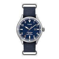 Timex Men's Waterbury Leather Watch