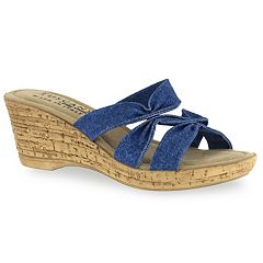 Tuscany by Easy Street Lauria Women's Wedge Sandals
