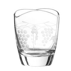 Qualia Glass Orchard 4 pc Double Old-Fashioned Glass Set