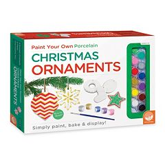 MindWare Paint Your Own Christmas Ornaments