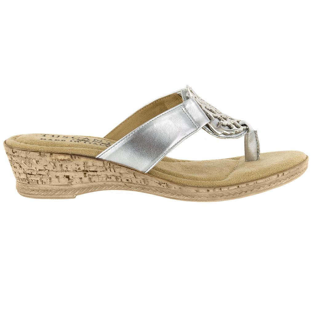 Tuscany by Easy Street Rossano Women's Wedge Sandals