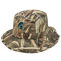 Adult Top of the World Michigan State Spartans Realtree Camouflage Boonie Max Bucket Hat