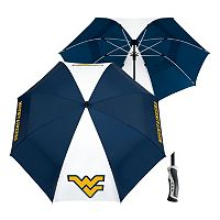 Team Effort West Virginia Mountaineers Windsheer Lite Umbrella