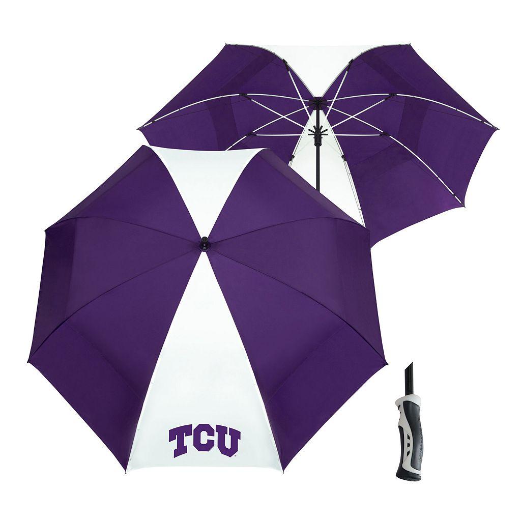 Team Effort TCU Horned Frogs Windsheer Lite Umbrella