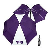 Team Effort TCU Horned Frogs Windsheer Lite Umbrella