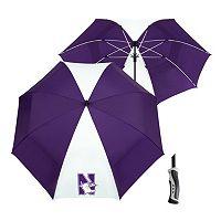 Team Effort Northwestern Wildcats Windsheer Lite Umbrella