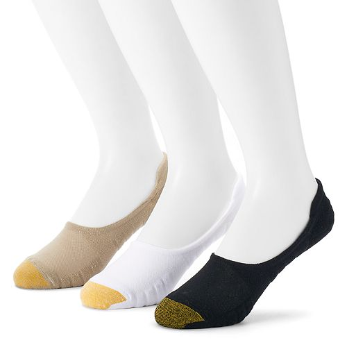 Men's GOLDTOE 3-pack Ultra-Low Tab Socks