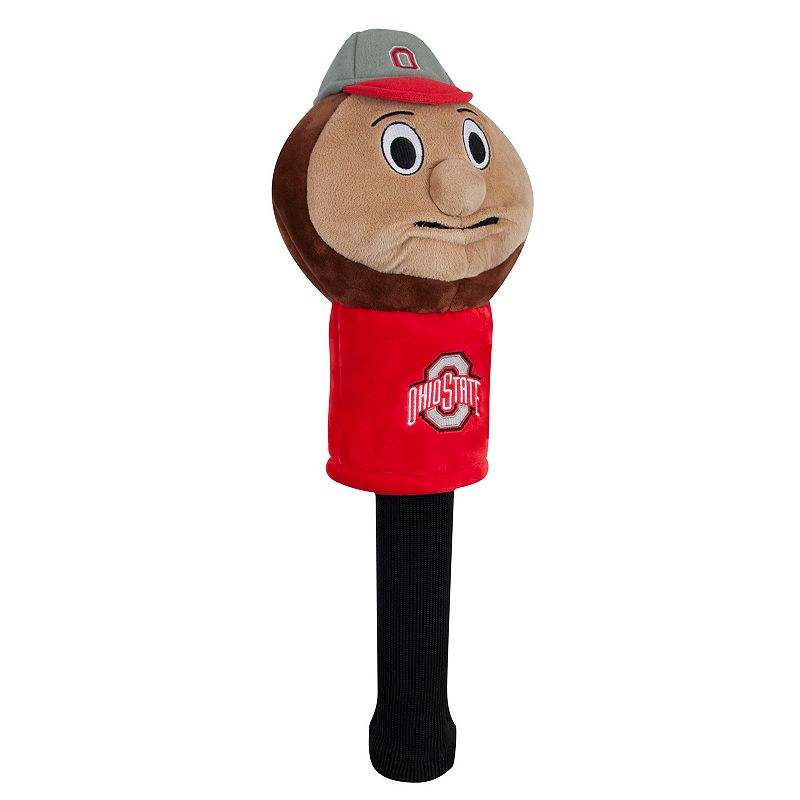 Team Effort NCAA Mascot Golf Headcover- Ohio State Buckeyes