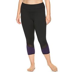 Plus Size Gaiam Om Yoga Capris