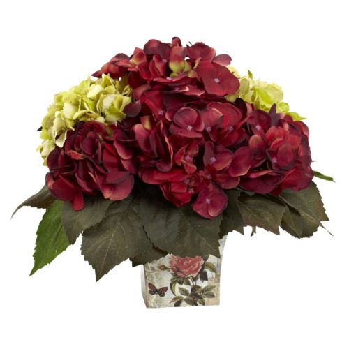 nearly natural Hydrangea Artificial Flowers