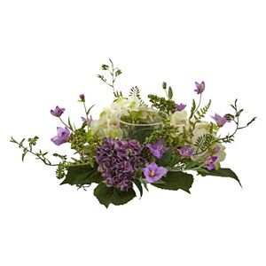 nearly natural Artificial Hydrangea Berry Candelabrum