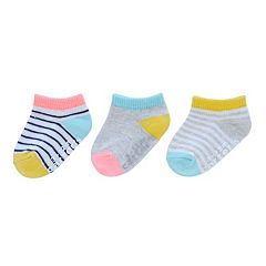 Girls Carter's 3 pkStriped Socks