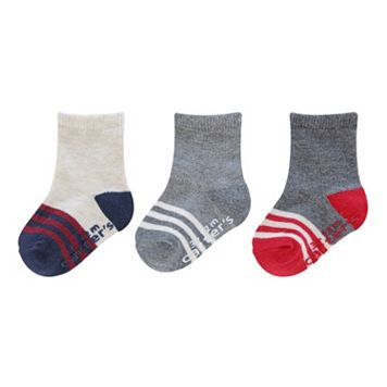 Boys Carter's 3-pk. Striped Socks