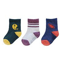 Baby / Toddler Boy Carter's 3-pk. Football Socks